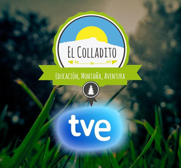 TVE visita nuestro albergue en Miraflores de la Sierra